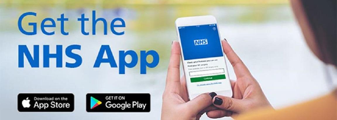 NHS App Banner